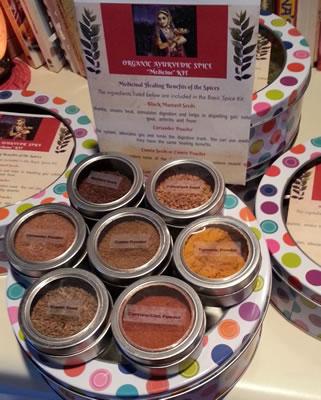 Ayurvedic Cooking Spice Kits