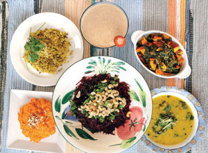 ayurvedic vegetarian meal