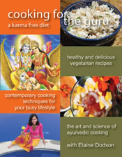 Cooking For The Guru Cookbook by Elaine Dodson